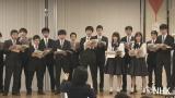 函館ラ・サール学園グリー部の合唱練習に参加