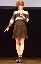 『ドラゴン・キングダム 〜魔法の森と水晶の秘密〜』の上映イベントに参加した松村沙友理 (C)ORICON NewS inc.