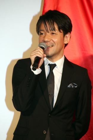映画『帝一の國』初日舞台あいさつに登壇した永井聡監督(C)ORICON NewS inc.(10/11)
