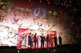 映画『帝一の國』初日幕開けを観客とともに喜ぶキャスト陣(C)ORICON NewS inc.(11/11)