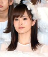 AKB48の48thシングル「願いごとの持ち腐れ」のミュージックビデオ先行上映会に出席したNMB48の山本彩 (C)ORICON NewS inc.
