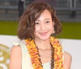 ハワイのパワースポットを訪れた後、第2子を授かったことを明かした西山茉希=『お台場ハワイ・フェスティバル2017』アンバサダー任命式 (C)ORICON NewS inc.