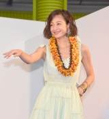 フラダンスを披露した西山茉希 (C)ORICON NewS inc.