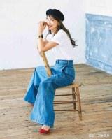 『LEE』6月号の表紙を飾る長谷川京子(集英社)