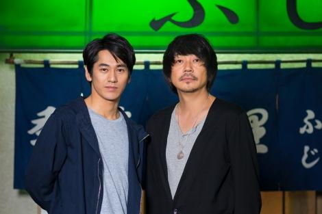 『居酒屋ふじ』にW主演する(左から)永山絢斗、大森南朋 (C)テレビ東京