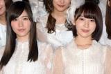 AKB48の48枚目のシングル「願いごとの持ち腐れ」でセンターを務める(左から)松井珠理奈、宮脇咲良 (C)ORICON NewS inc.