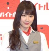 『バイトル×乃木坂46 新CM発表会』に出席した乃木坂46・高山一実 (C)ORICON NewS inc.