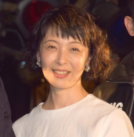 映画『いぬむこいり』のトークイベントに参加した有森也実 (C)ORICON NewS inc.