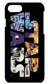 STAR WARS 40Th Anniversary iPhone7対応3Dハードケース STW-65B R2D2&C-3PO/グルマンディーズ/2680円(4月25日発売)