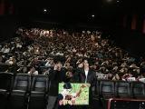 名古屋で行われた映画『帝一の國』の舞台あいさつに登場した菅田将暉、永井聡監督
