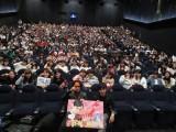 博多で行われた映画『帝一の國』の舞台あいさつに登場した菅田将暉、永井聡監督