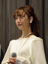 映画『笑う招き猫』の初日舞台あいさつに登壇した女優の松井玲奈 (C)ORICON NewS inc.