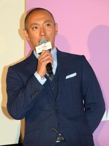 映画『無限の住人』初日舞台あいさつに登壇した市川海老蔵 (C)ORICON NewS inc.