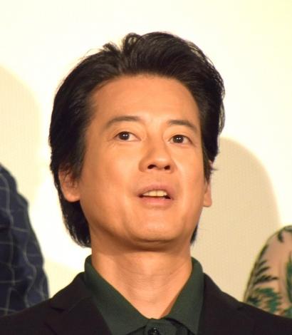 映画『ラストコップ THE MOVIE』の初日舞台あいさつに参加した唐沢寿明 (C)ORICON NewS inc.