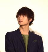 映画『ラストコップ THE MOVIE』の初日舞台あいさつに参加した窪田正孝 (C)ORICON NewS inc.