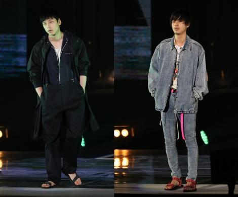 サムネイル (左から)坂口健太郎と成田凌(撮影:片山よしお) (C)oricon ME inc.