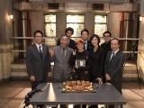 (左から)大杉漣、でんでん、速水もこみち、AI、田中哲司、天海祐希、鈴木浩介、小日向文世(C)テレビ朝日