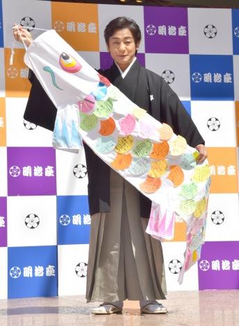 明治座『五月花形歌舞伎』こどもの日イベントに登場した片岡愛之助 (C)ORICON NewS inc.