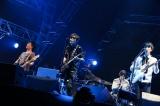 スガシカオ主催フェス『SUGA SHIKAO 20th Anniversaryスガフェス!〜20年に一度のミラクルフェス〜』に出演したUNISON-SQUARE-GARDEN(C)西槇太一