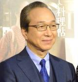 NHKドラマ『みをつくし料理帖』試写会後会見に出席した小日向文世 (C)ORICON NewS inc.