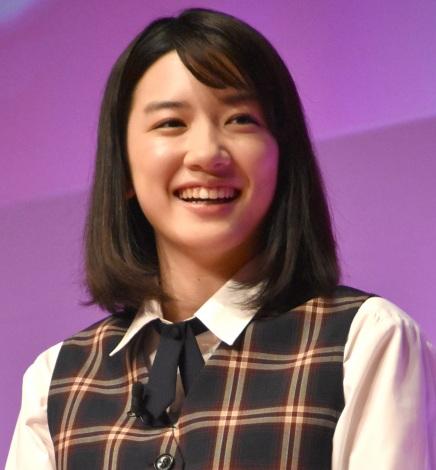 映画『ピーチガール』公開直前イベントに出席した永野芽郁 (C)ORICON NewS inc.