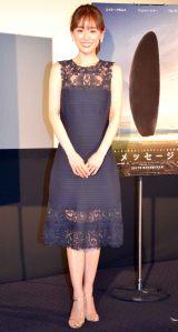 映画『メッセージ』記念イベントに出席した泉里香 (C)ORICON NewS inc.