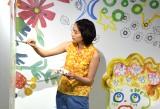 スペインのファッションブランド「Jocomomola de Sybilla」(ホコモモラ デ シビラ)とのコラボプロジェクト『ホコとのん Jocomomola x non』のイベントに参加したのん (C)ORICON NewS inc.