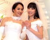 一ノ瀬文香(左)と杉森茜が破局(写真は2015年挙式時) (C)ORICON NewS inc.