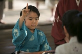 大河ドラマ『おんな城主 直虎』第17話より。井伊直政の幼少期・虎松を演じている寺田心(C)NHK