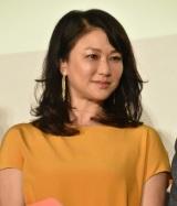 映画『家族はつらいよ2』完成披露試写会に出席した夏川結衣 (C)ORICON NewS inc.