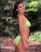TBS系『結婚したら人生劇変!〇〇の妻たち』で26年ぶりにテレビ出演する田島都 写真はモデル時代のもの (C)TBS