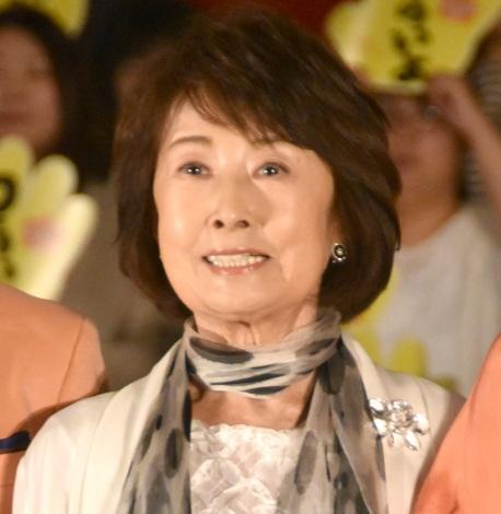 映画『家族はつらいよ2』の公開直前イベントに出席した吉行和子 (C)ORICON NewS inc.
