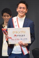 グランプリに輝いた駒沢大学2年の佐藤雅也さん=『Miss of Miss CAMPUS QUEEN CONTEST 2017』授賞式 (C)ORICON NewS inc.