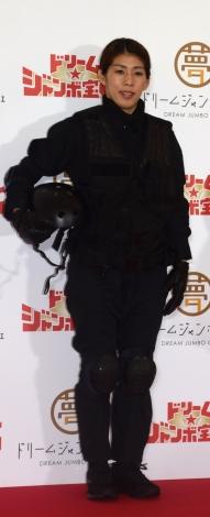 吉田沙保里=『夢の7億円〜ドリームジャンボカフェ〜』PRイベント (C)ORICON NewS inc.
