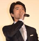 映画『22年目の告白-私が殺人犯です-』のジャパンプレミアに出席した仲村トオル (C)ORICON NewS inc.