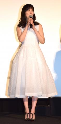 映画『22年目の告白-私が殺人犯です-』のジャパンプレミアに出席した石橋杏奈 (C)ORICON NewS inc.
