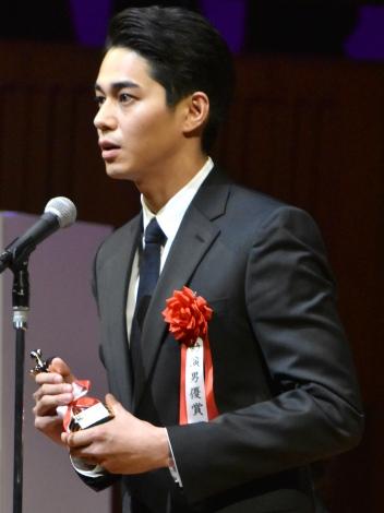 『第26回日本映画批評家大賞』の授賞式に出席した東出昌大 (C)ORICON NewS inc.