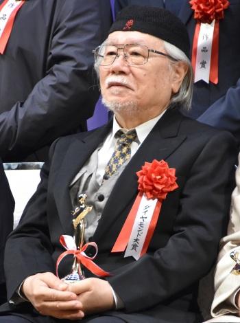 『第26回日本映画批評家大賞』の授賞式に出席した松本零士 (C)ORICON NewS inc.