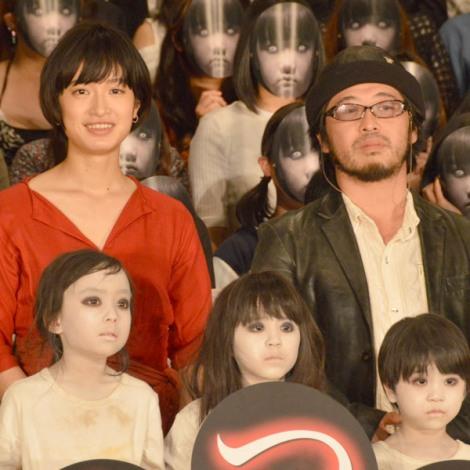 映画『こどもつかい』スペシャルイベントに出席した(左から)門脇麦、清水崇監督 (C)ORICON NewS inc.