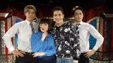 23日放送の日本テレビ系『行列のできる法律相談所』でブルゾンちえみwithBがオースティン・マホーンと初対面 (C)日本テレビ