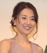 映画『心に吹く風』の完成披露試写会イベントに参加した真田麻垂美 (C)ORICON NewS inc.