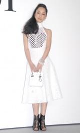 ファッションショー『Esprit Dior TOKYO 2015』に出席した中島美嘉 (C)ORICON NewS inc.