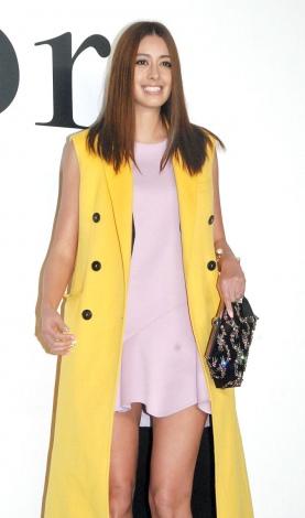 ファッションショー『Esprit Dior TOKYO 2015』に出席した森泉 (C)ORICON NewS inc.