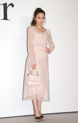 ファッションショー『Esprit Dior TOKYO 2015』に出席した河北麻友子 (C)ORICON NewS inc.