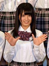 乃木坂46第3期生として加入する大園桃子「何もできないのに受かったのが不思議です。これから頑張ります」 (C)ORICON NewS inc.