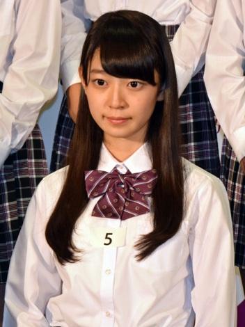 乃木坂46第3期生として加入する阪口珠美「夢は乃木坂46に入ることでした。かなってうれしいです」 (C)ORICON NewS inc.