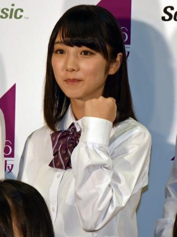 乃木坂46第3期生として加入する与田祐希「期待を裏切らないよう、精いっぱい努力して頑張ります」 (C)ORICON NewS inc.