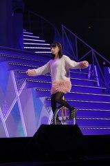 特技の一輪車を披露した与田祐希