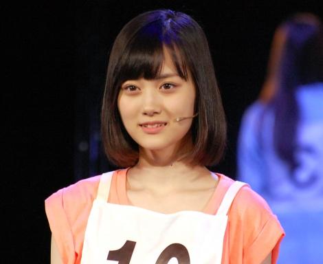 乃木坂46 3期生初公演『3人のプリンシパル』ゲネプロより山下美月 (C)ORICON NewS inc.