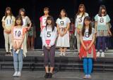 3役に選ばれた(前列左から)久保史諸里、阪口珠美、山下美月 (C)ORICON NewS inc.